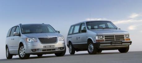 Chrysler Voyager alt und neu