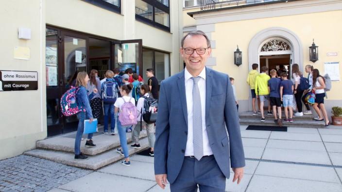 Bruno Habersetzer geht in den Ruhestand; Am Tutzinger Gymnasium