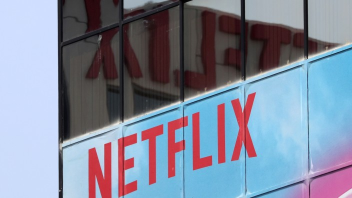 Netflix-Zentrale in Hollywood, Los Angeles