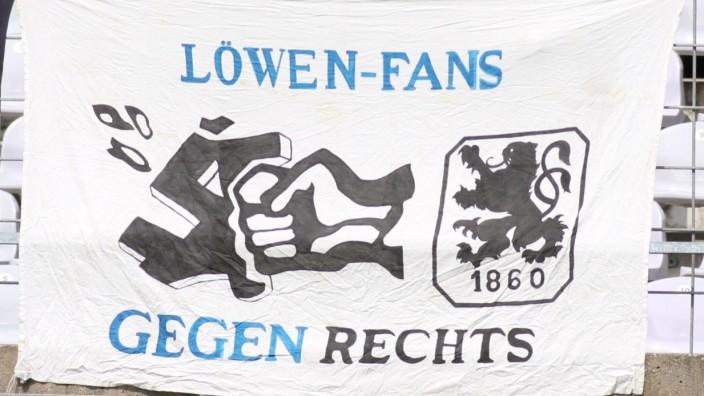"""1860-Gruppierung """"Löwenfans gegen Rechts"""""""