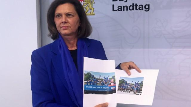 Bayern: Landtagspräsidentin Ilse Aigner zeigt den AfD-Abgeordneten Ralf Stadler an