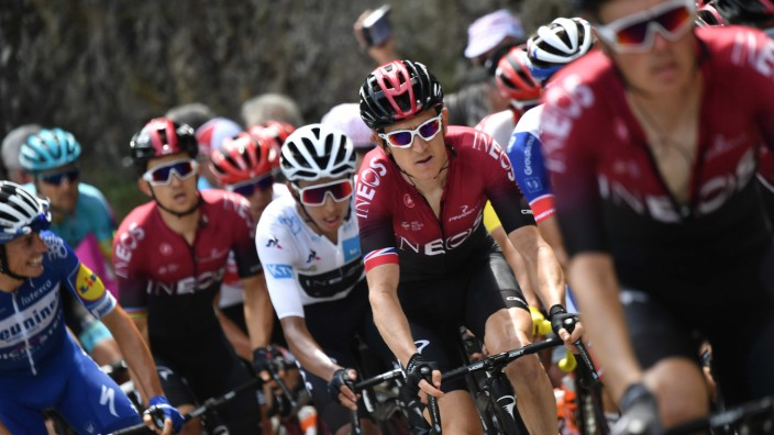 Doping bei der Tour de France: Bei der Etappe am Donnerstag ging es hoch hinaus in die Pyrenäen.