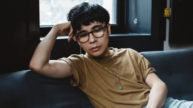 Ocean Vuong in New York.