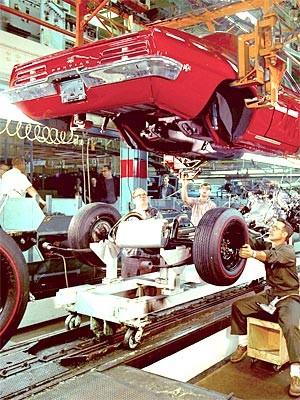 Pontiac Fertigung