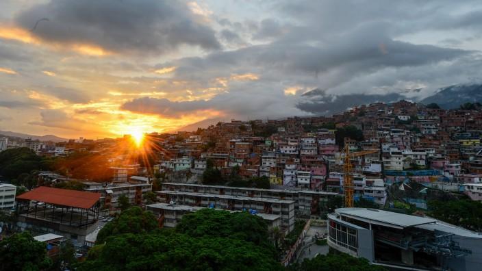 Stromausfall in Caracas (Venezuela)