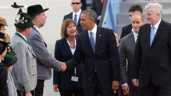 Barack Obama in Garmisch-Partenkirchen 2015