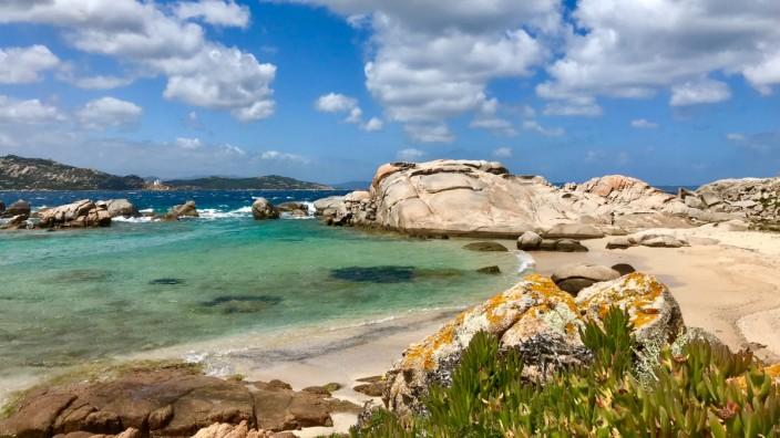 Nido d'Aquila, La Maddalena, Italy Sardinien sardegna beach strand