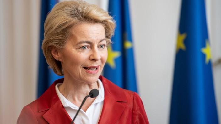 Ursula von der Leyen in Aachen
