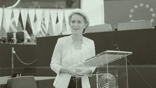 Von der Leyen ist neue EU-Kommissionspräsidentin