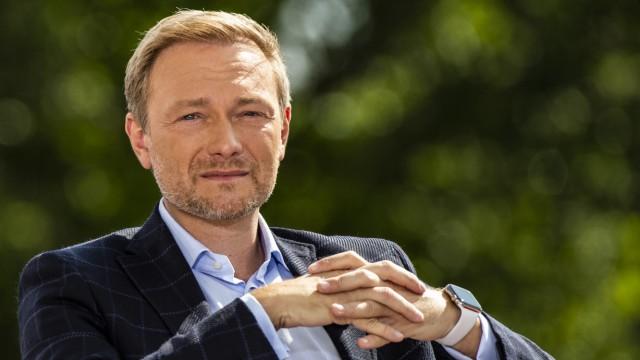 Sommerinterview der ARD - FDP-Vorsitzender Lindner