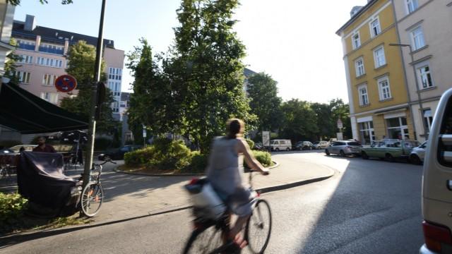 Zweite Stammstrecke: Wo die Milchstraße auf die Kellerstraße trifft, sollte ein Rettungsschacht gegraben werden, der nun entfällt.