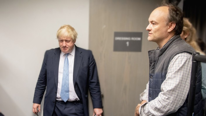 Boris Johnson und Dominic Cummings