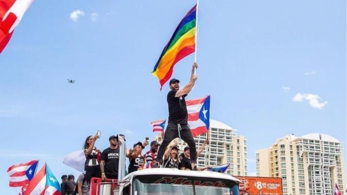 """Letzter """"Favorit"""" -  Puerto Rico,  Ricky Martin"""