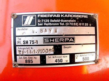 Blech der Woche (54): Fiberfab Sherpa 2 CV; Carsablanca