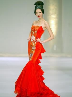 Model; Laufsteg; Beijing; mager; afp