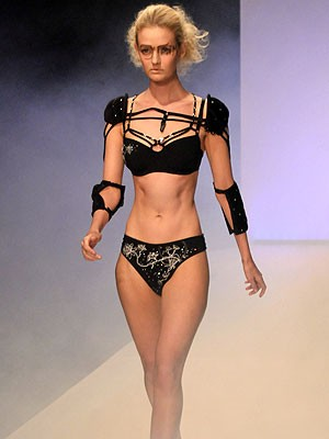 Mailand; Laufsteg; magere Models; Lydia Hearst; Getty Images