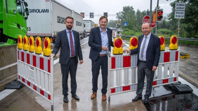 Dritte Spur für Grenzkontrollen am Walserberg eröffnet