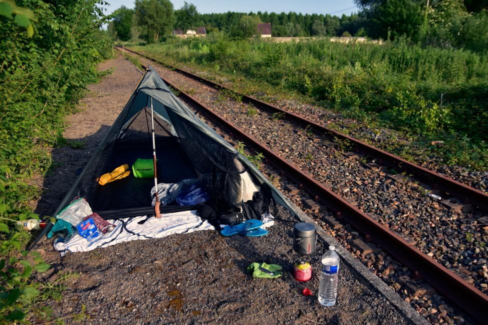 Reisefotograf Christian Jobst Frankreich Gleise stillgelegt Schienen Bahn Wandern Bahnstrecke Gleis;