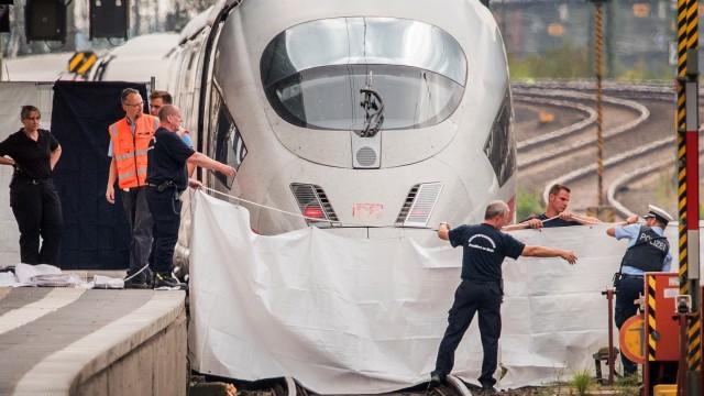 Attacke im Frankfurter Hauptbahnhof
