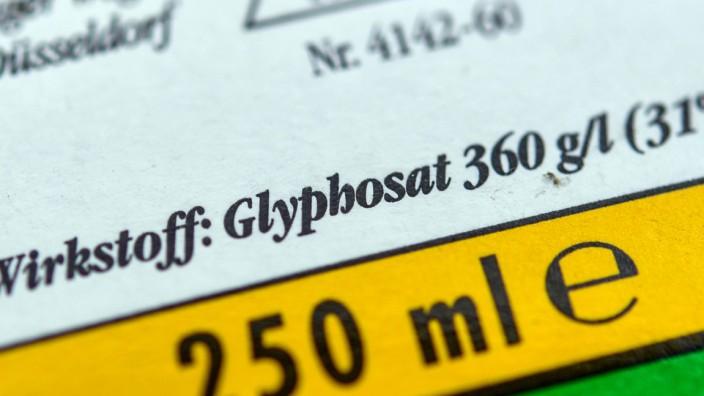 Klöckner rechnet mit Glyphosat-Aus ab spätestens 2022