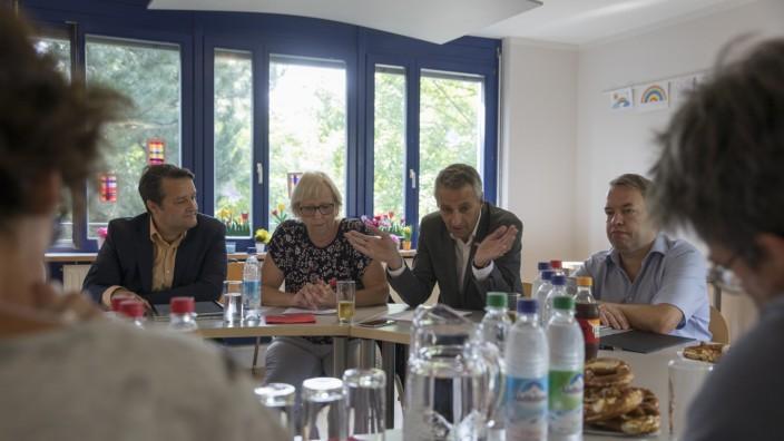 Kandidaten und Kandidatinnen der SPD Puchheim für die Stadtratswahl