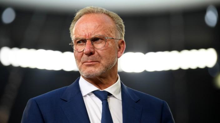 FC Bayern München: Karl-Heinz Rummenigge beim Audi Cup 2019