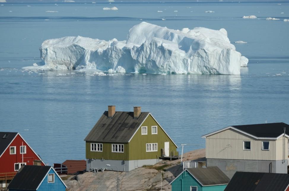 BESTPIX - Western Greenland Hit By Unseasonably Warm Weather