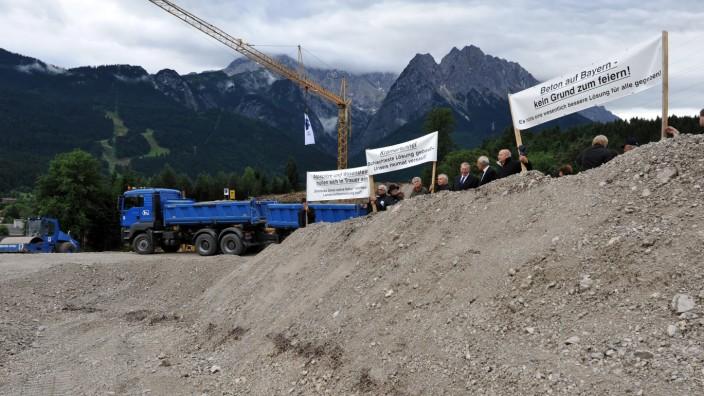 Baubeginn der Ortsumgehung von Garmisch-Partenkirchen