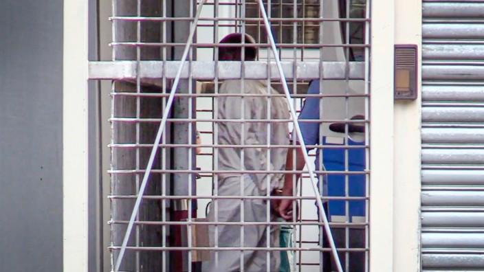 Mord am Frankfurter Bahnhof - Haftvorführung von Habte A. nach der tödlichen Attacke