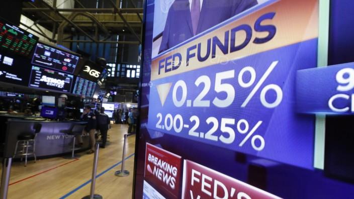 US-Notenbank signalisiert Bereitschaft zu weiteren Zinssenkungen