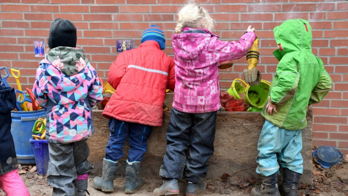 Kinder in einer Kita in Schleswig-Holstein