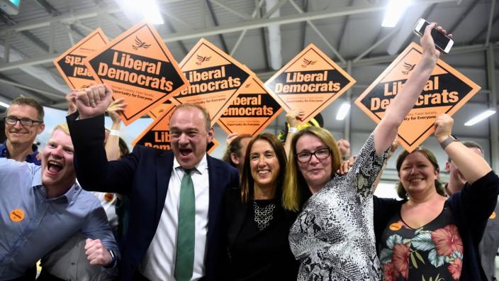 Wales - Jane Dodds zieht für die Liberaldemokraten ins Unterhaus ein