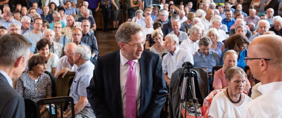 Ex-Verfassungsschutz-Chef Maaßen in Radebeul