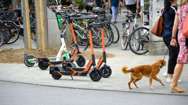 E-Scooter in München, 2019