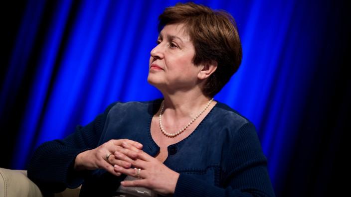 Internationaler Währungsfonds: Die bulgarische Ökonomin Georgiewa gilt als sehr kompetent.