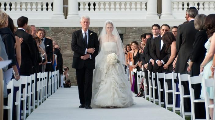 Braut zum altar führen