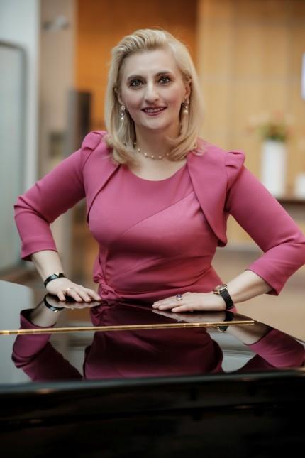 Pianistin Catherine Gordeladze
