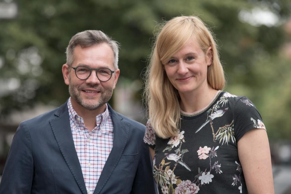 Michael Roth und Christina Kampmann, Bewerber um den SPD-Vorsitz