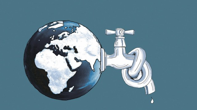 Wasserknappheit