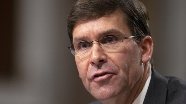 US-Verteidigungsminister Esper