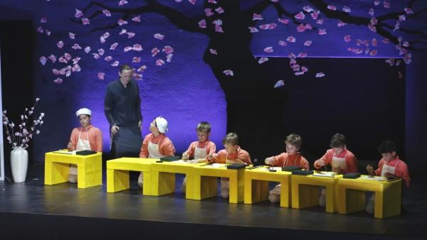 Orff-Oper 'Gisei' im Florianstadel