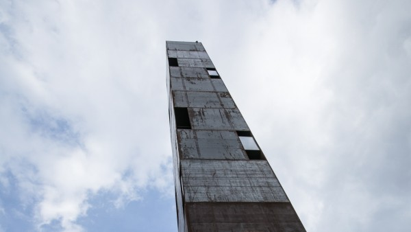 30 Meter hohe, begehbare Skulptur im Kreativquartier