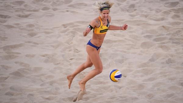 FIVB Beach Volleyball World Championships Hamburg 2019 - Day 3; Laura Ludwig