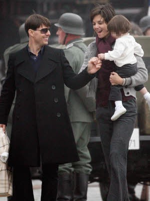 Tom Cruise; Katie Holmes