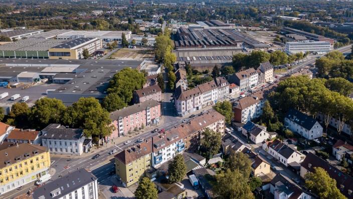Luftbild - Schalker Meile - Gelsenkirchen