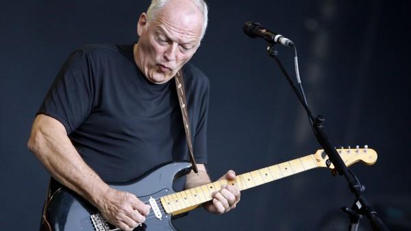 David Gilmour auf dem Münchner Königsplatz, 2006