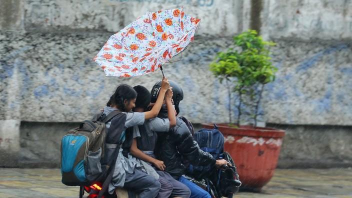Monsunregen in Indien