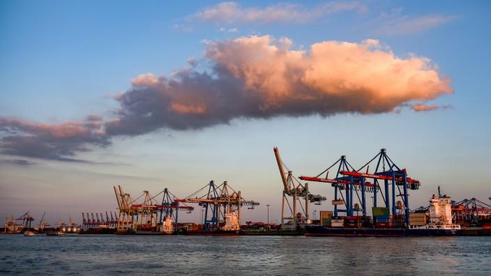Exportabhängigkeit bremst Industriekonzerne