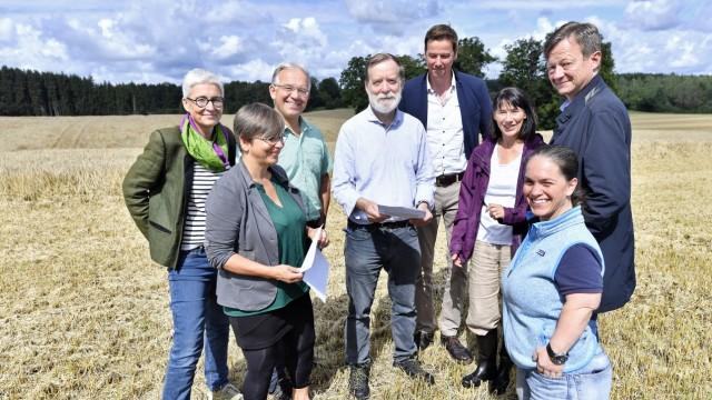 Schorn Ortsbegehung Plangebiet Schorn