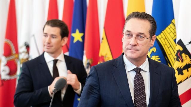 Ministerratssitzung in Wien